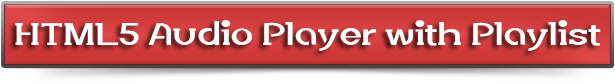 HTML5 Audio Player with Playlist for WordPress